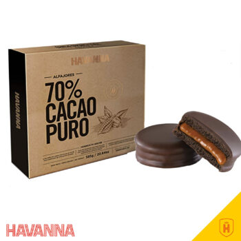 Alfajor Havanna 70 Cacao