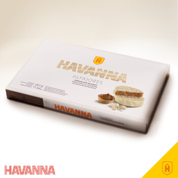 Alfajor White Chocolate - Box 6 Alfajores